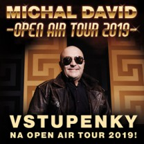 MICHAL DAVID vyráží na OPEN AIR TOUR