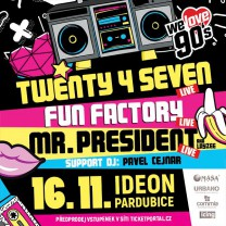 WE LOVE 90´S v Pradubicích